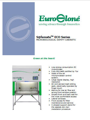 Euroclone_S@femateTM ECO Series