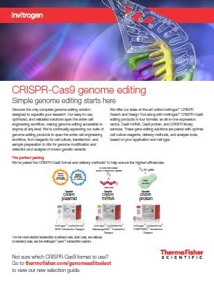 Invitrogen CRISPR-Cas9 Genome Editing