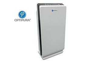 เครื่องฟอกอากาศสำหรับฆ่าเชื้อ และกำจัดกลิ่นไม่พึงประสงค์ (OPTIPURA รุ่น HEPPA)