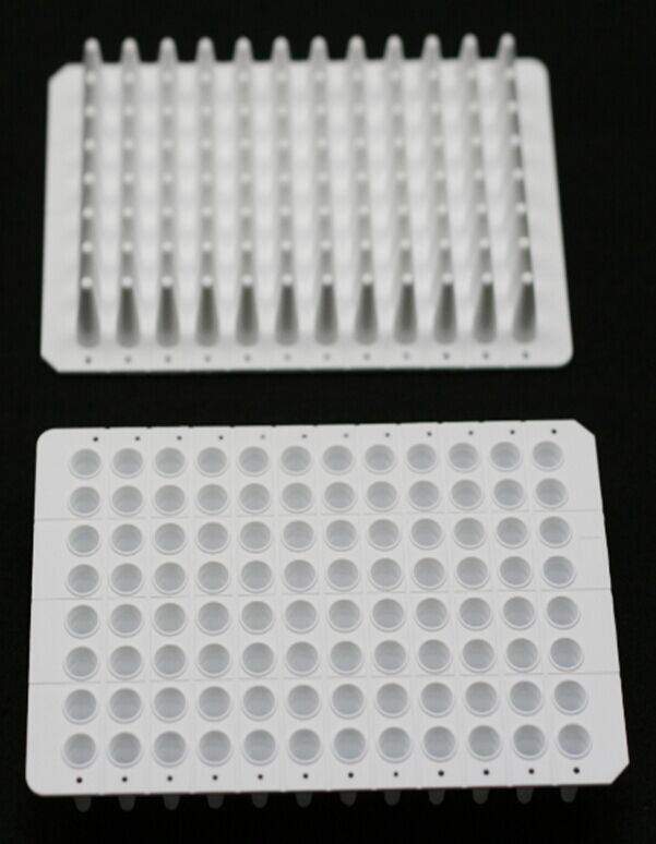 0.2 ML., 96-WELL qPCR PLATES, UNSKIRTED, WHITE, 15 PCS/BOX