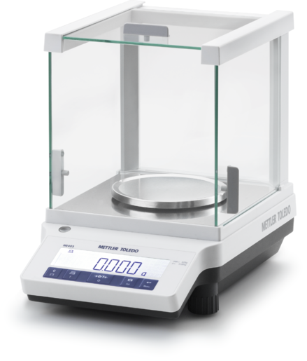 ME203E ANALYTICAL BALANCE 220Gx0.1 MG. (EXTERNAL CAL.)
