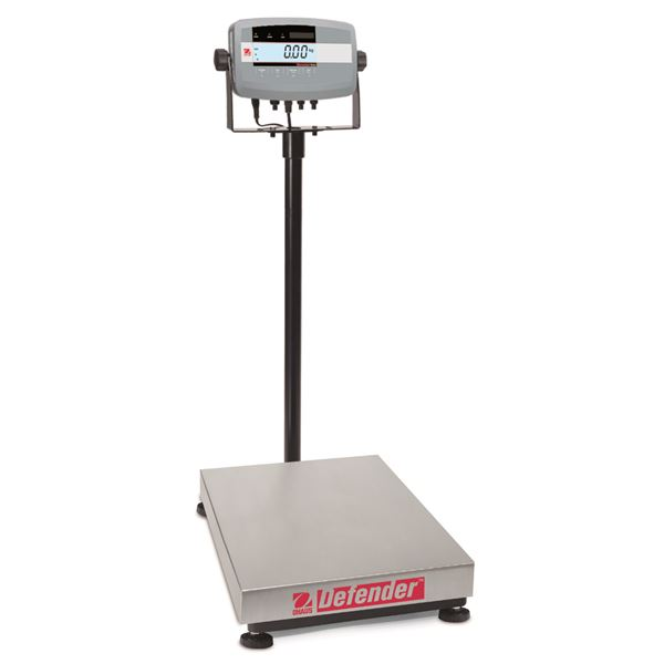 D51P60HL2 OHAUS DEFENDER 5000 60x0.02 KG. SQUARE BENCH SCALES