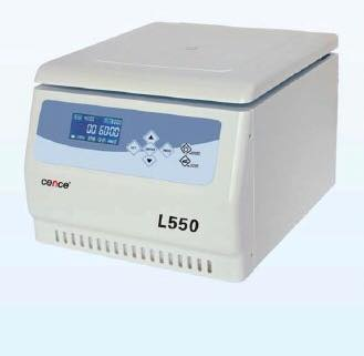 L550 TABLE TOP CENTRIFUGE