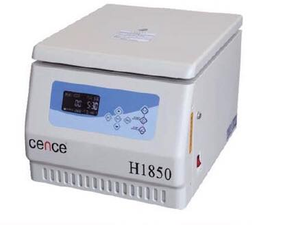H1850 TABLE TOP HIGH SPEED CENTRIFUGE