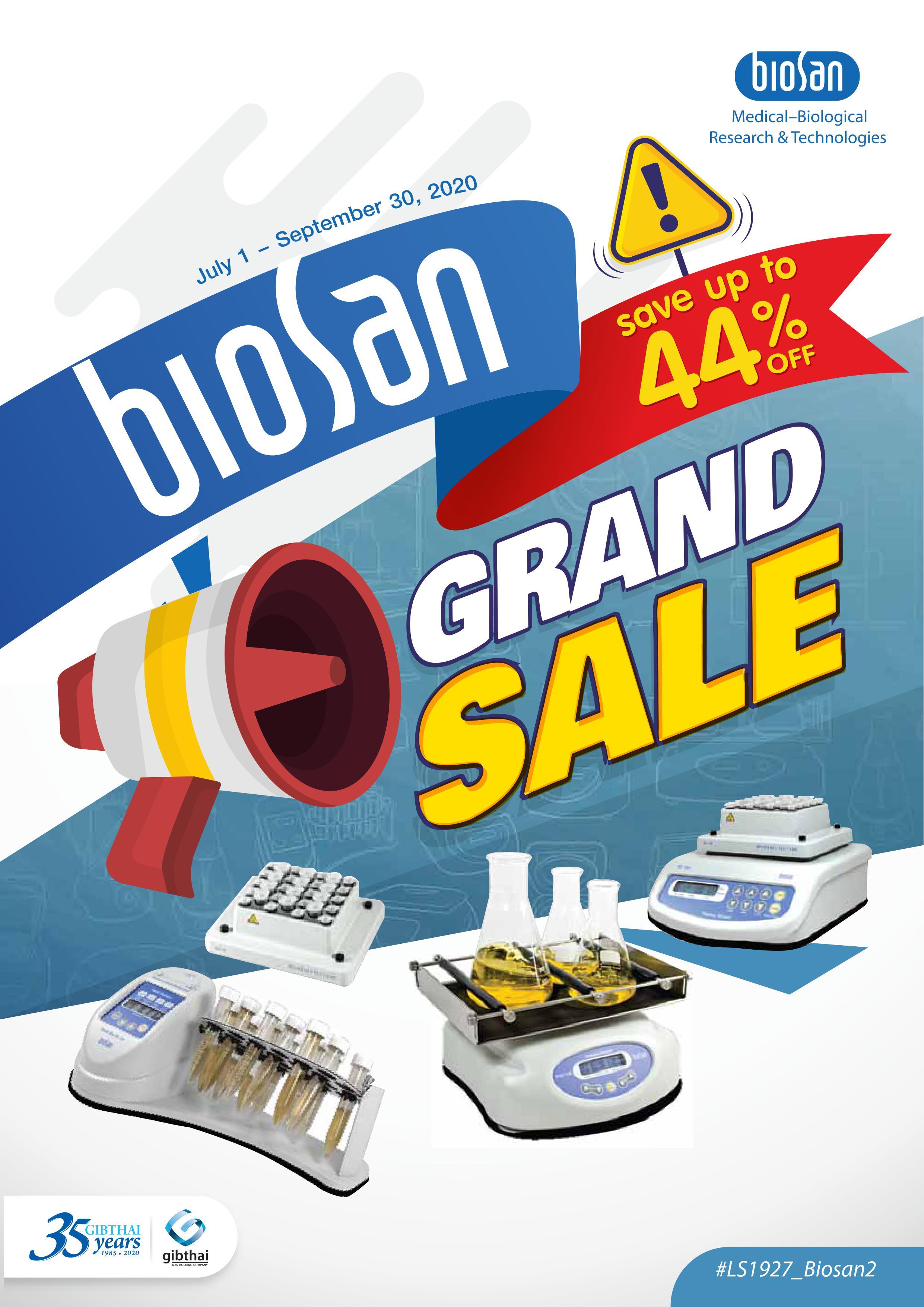 BIOSAN Grand Sale